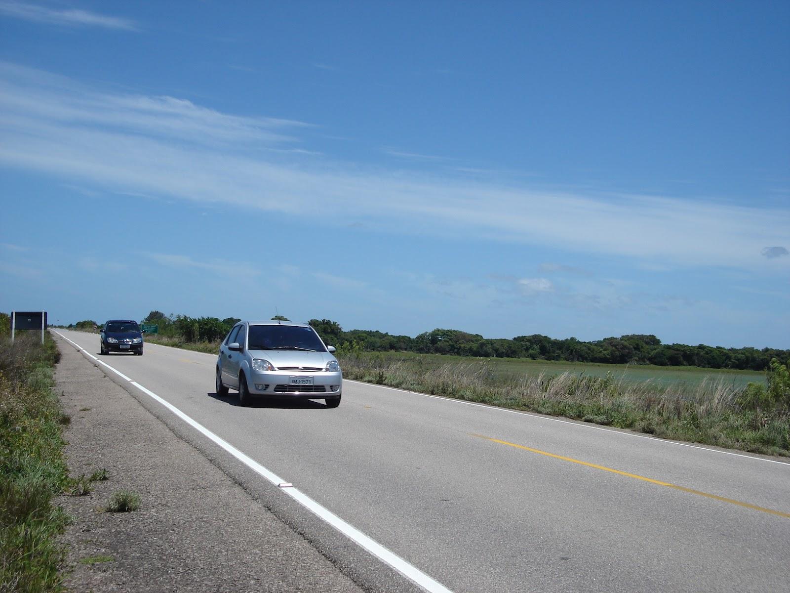 Viagem de carro a Montevidéu