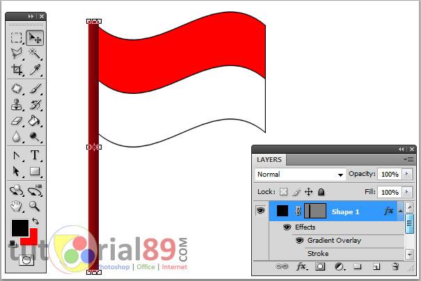 1001 Gambar Animasi Bendera Merah Putih Bergerak Cikimm Com