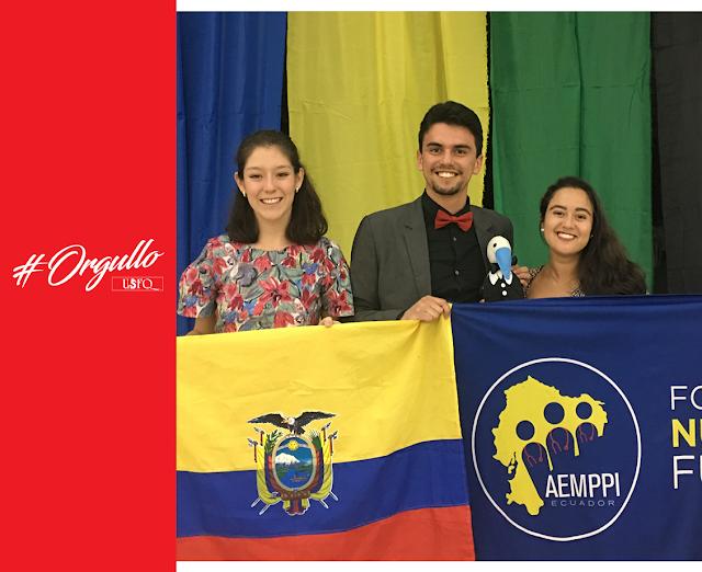 3 Estudiantes de medicina de la USFQ representaron al Ecuador en la Asamblea General #66 IFMSA