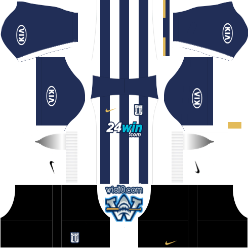 Alianza Lima 2018 2019 DLS   FTS Kits and Logo (Dream League Soccer ... f6e37c6a01c6a