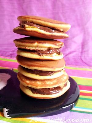Dorayaki - Ricetta pancakes giapponesi Dorayaki