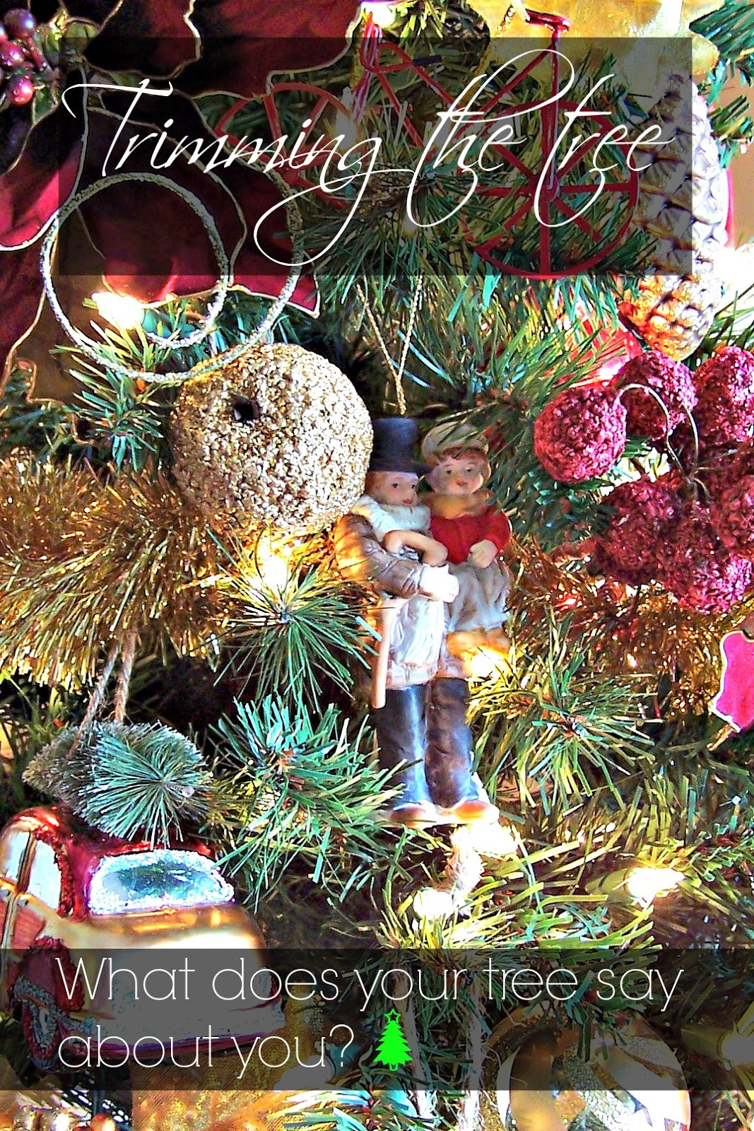 Olla-Podrida: What Does your Christmas Tree Say about You?