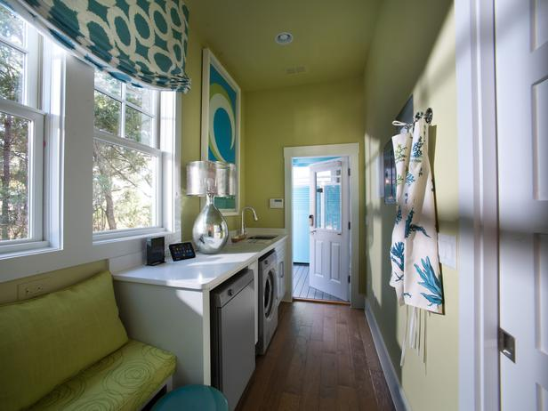 Modern Furniture: Laundry Room Pictures : HGTV Smart Home 2013