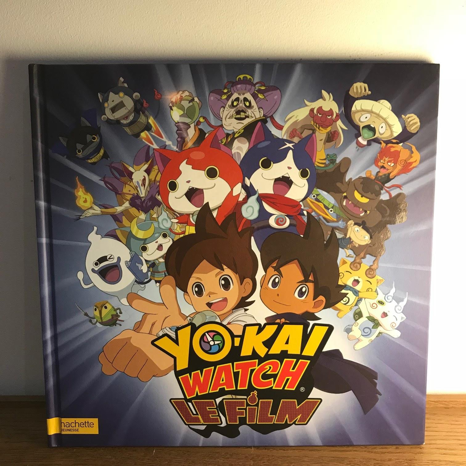 livre sur yo-kai watch
