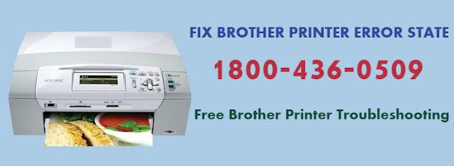 Brother Printer Error State