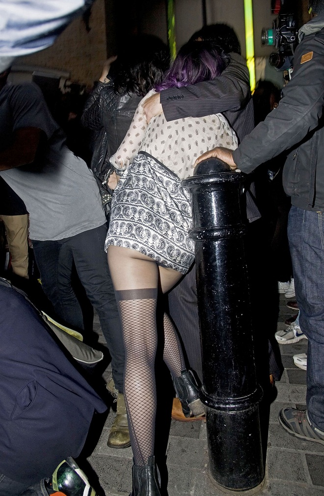 Katy Perry's bum