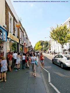 Inicio de la calle Portobello Road