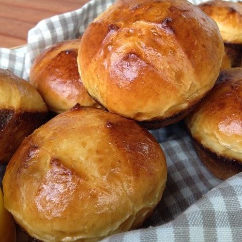 Übernacht-Milchbrötchen-Muffins