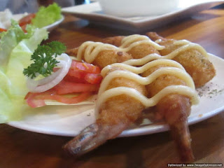 Fried Prawn Strada Caffe Semarang