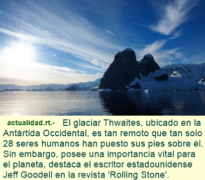 Por qué la situación de la Antártida supone un peligro para la humanidad