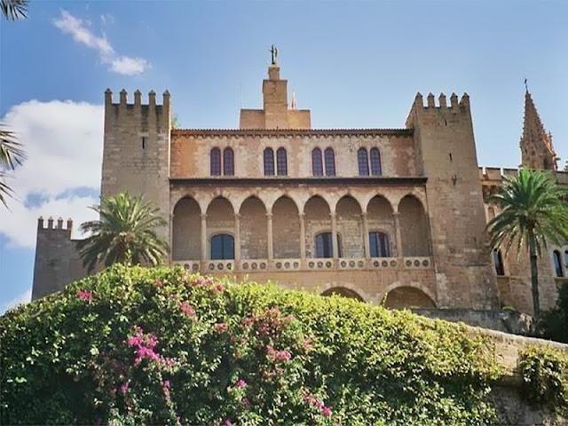 Palácio La Almudaina em Palma de Maiorca