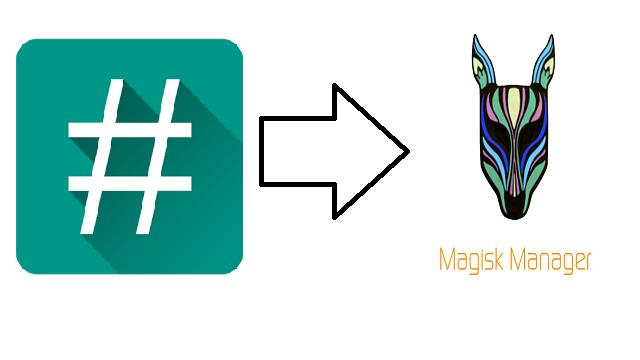 Cara Berpindah Akses Root dari SuperSU ke Magisk Manager (TANPA PC + Untuk Semua HP)