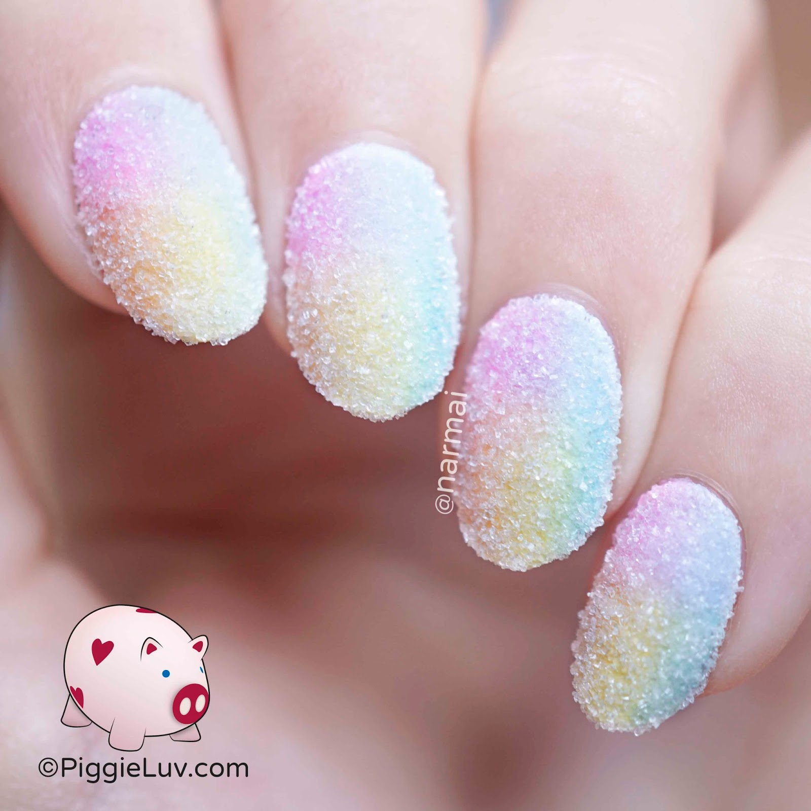 Piggieluv Pastel Sugar Crush Nail Art