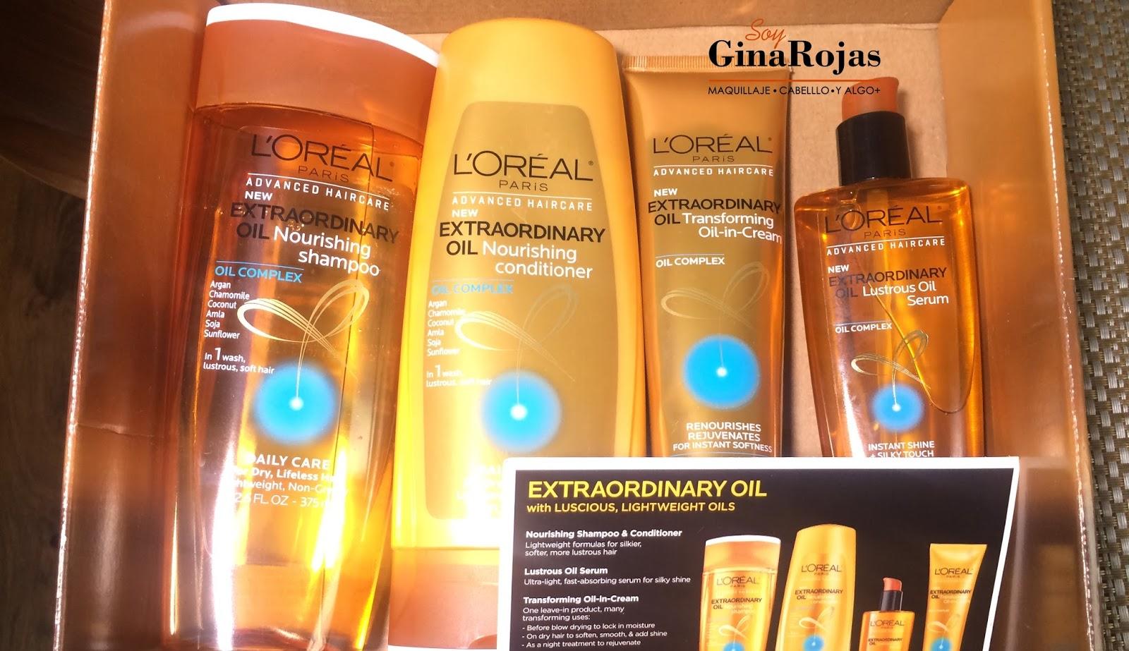 loreal extraordinary oil