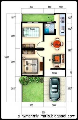 Sketsa Rumah Minimalis Type 36 | Design Rumah Minimalis
