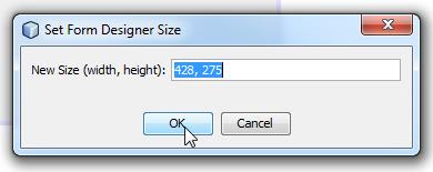 Modificando tamaño preferido del JFrame