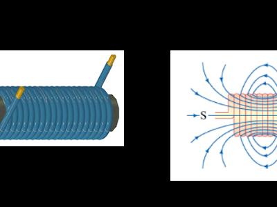 Circuito eletrônico otimizando o funcionamento de um equipamento eletromecânico