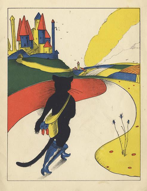 Pinturas infantiles - Piti Bartolozzi -  Saturnino Calleja - El gato con botas