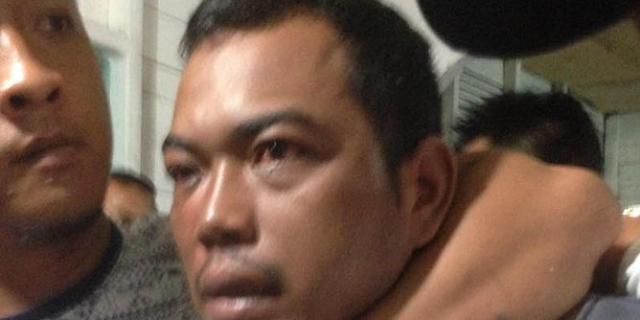Andi Lala sempat melawan petugas saat ditangkap