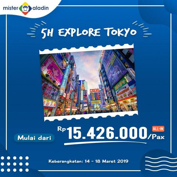 #MisterAladin - Promo Liburan 5 Hari di Jepang Mulai 15 Jutaan