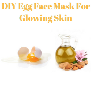 DIY Egg Face Mask For Glowing Skin