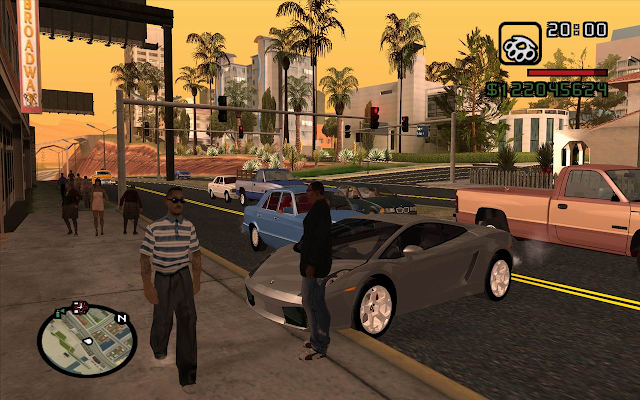 Download GTA San Andreas Game PS3 ISO Gratis Komputer