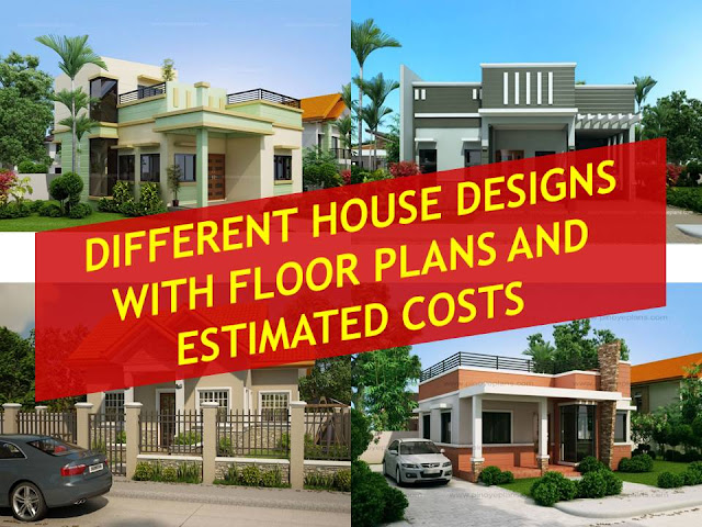 Beautiful houses with floor plans and estimated cost for Estimated cost building duplex