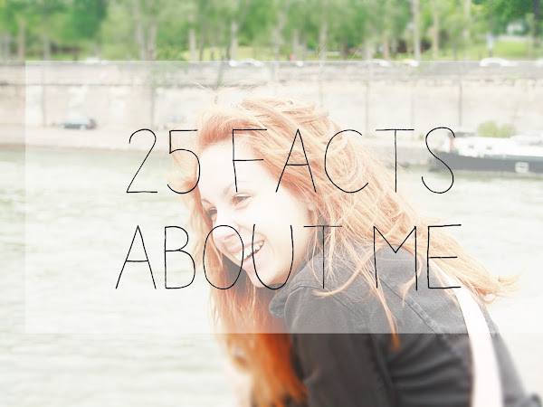 25 facts about me :: Personal