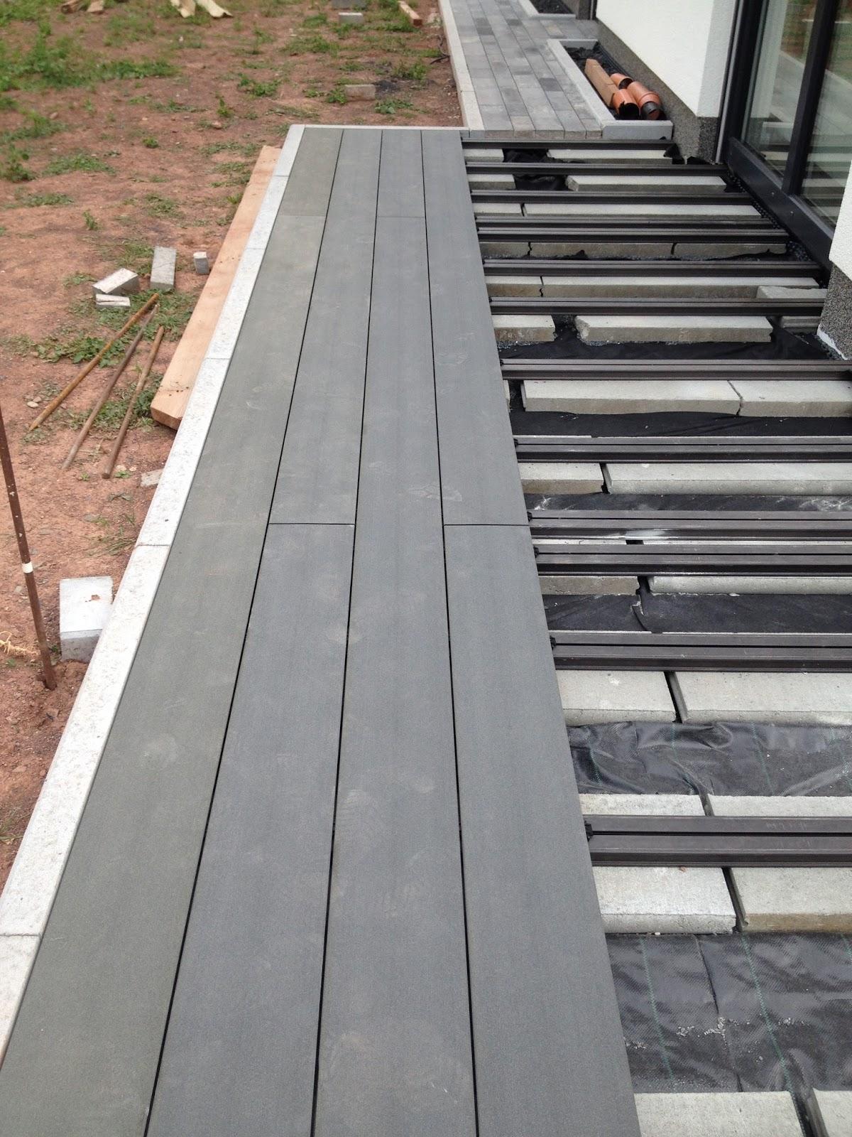 wir bauen unser h uschen mit heinz von heiden terrassenbau wpc. Black Bedroom Furniture Sets. Home Design Ideas