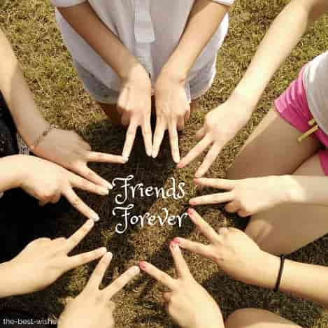 all friends group for finger star