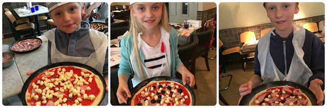 Pizza Express pizza making party