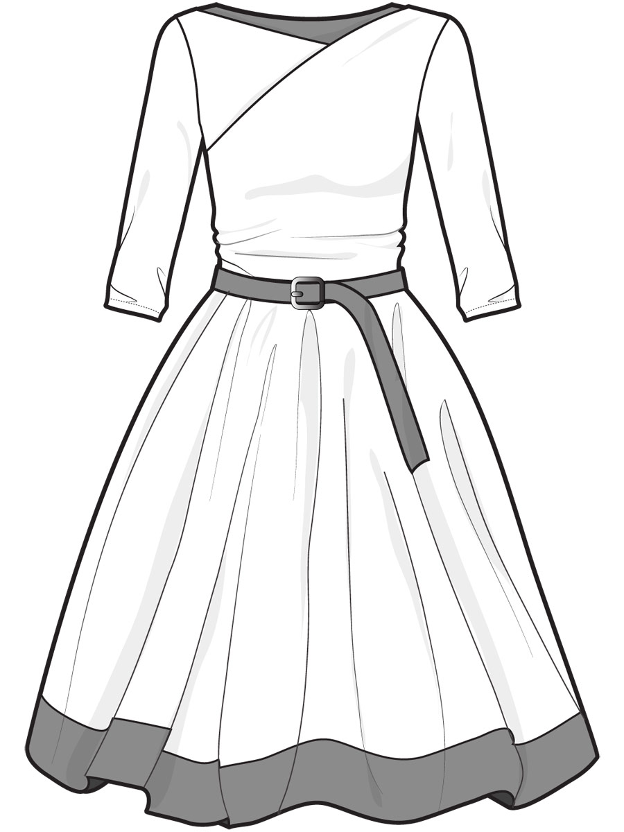 Freehands with cute dresses by Pun-kye on DeviantArt |Pretty Clothes Drawings