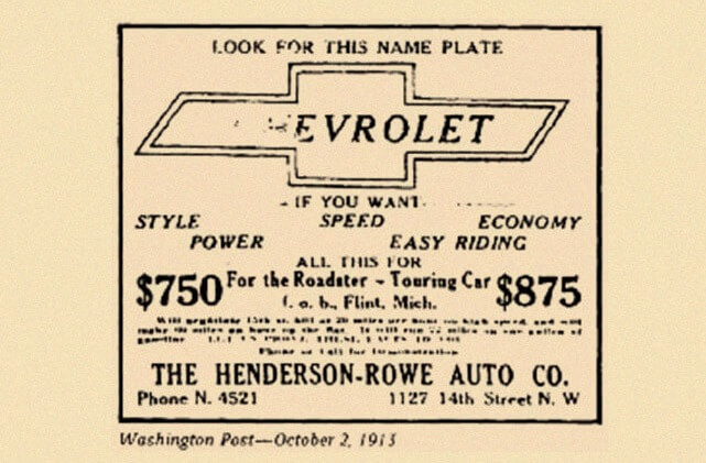 Chevrolet 1913