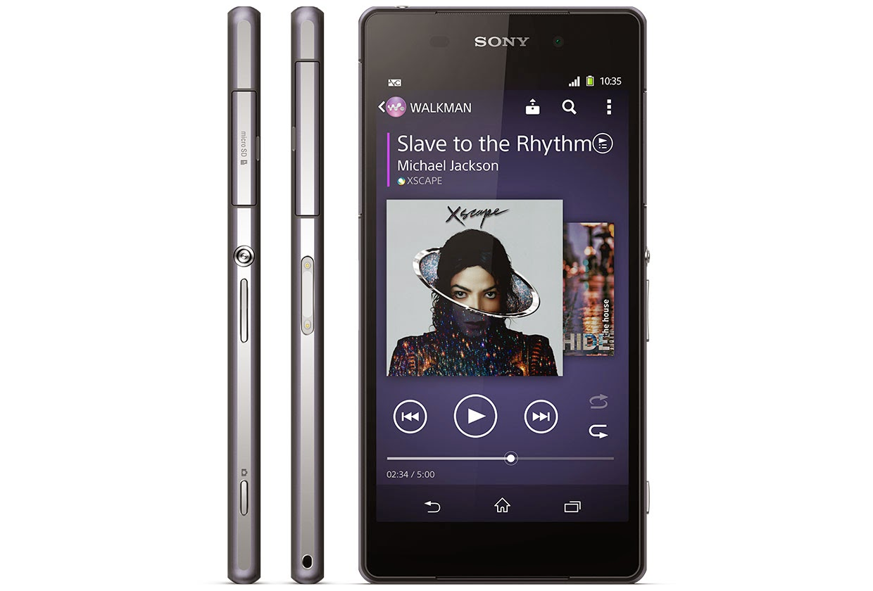 Sony Xperia Z2 Side Slim