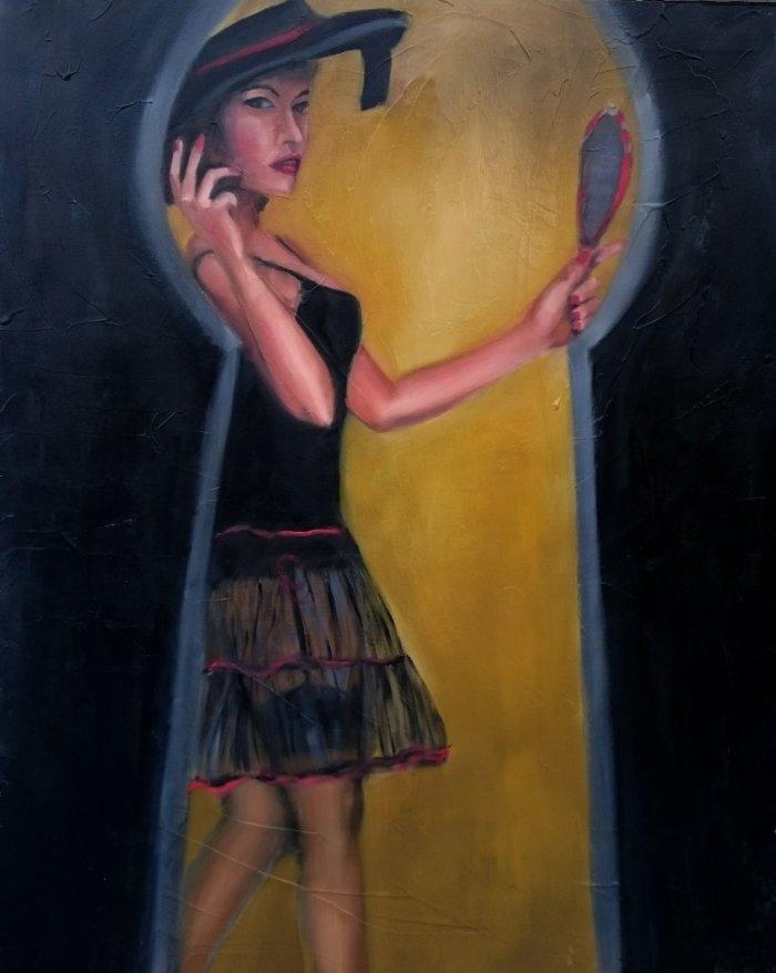 Итальянская художница. Flaminia Carloni