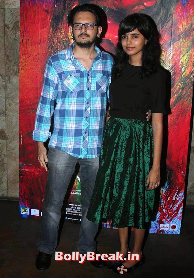 Vishesh Bhatt and Kanika Parab