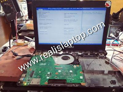service laptop asus x451ca mati total