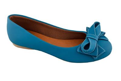 sapatilha azul linda bonita elegante moderna moda fashion retro rasteira caçado feminino sapato mulher laço camurça