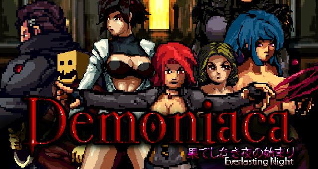 El plataformas de exploración 'Demoniaca' quiere salir también en Switch