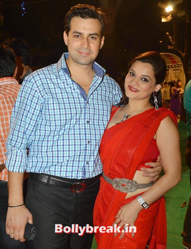 Ankur Ghai and Kanica Maheshwari, Diya Aur Baati Hum star Deepika Singh Marriage Pictures