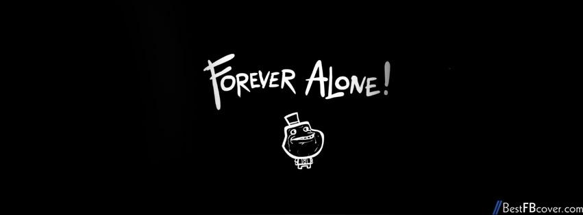 Ảnh bìa cô đơn đen trắng, cover facebook alone đen trắng