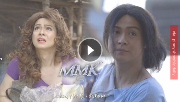 Hero Angeles plays a transvestite mom in MMK
