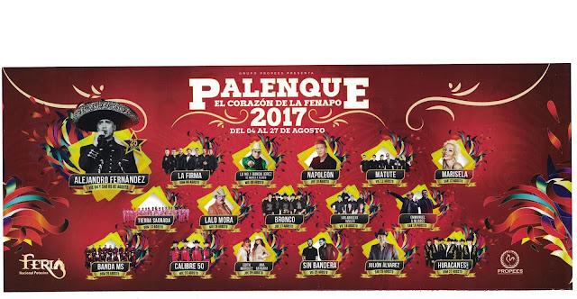 palenque y teatro del pueblo fenapo 2017