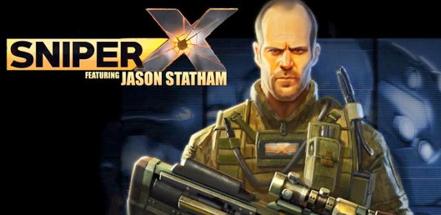 تحميل لعبة Sniper X with Jason Statham v1.5.1 مهكرة للاندرويد