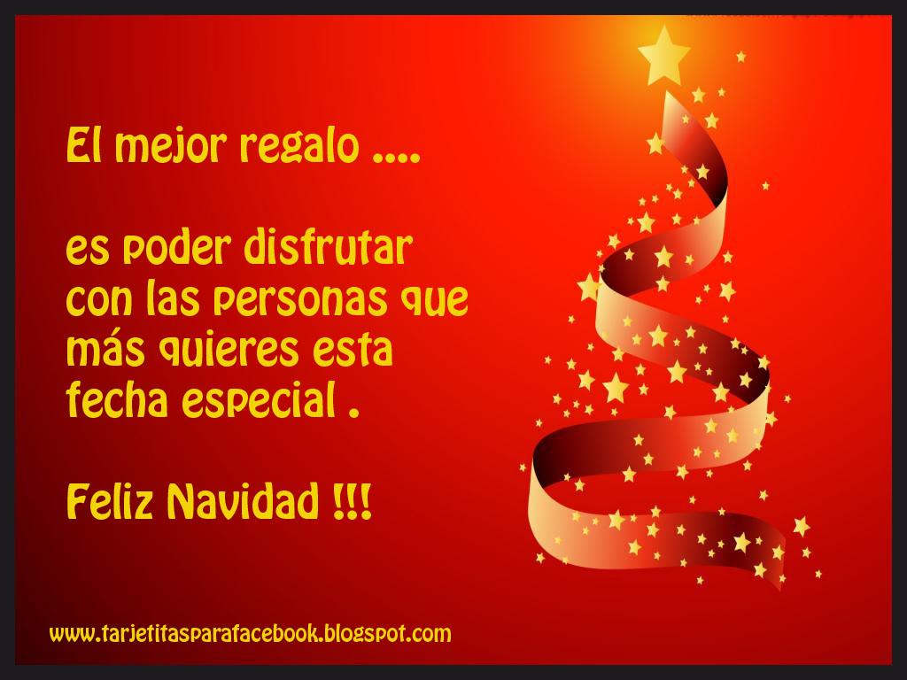 Tarjeta De Navidad Para Facebook El Mejor Regalo Tarjetitas Para