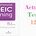 Listening Comprehensive TOEIC Training - Actual Test 12
