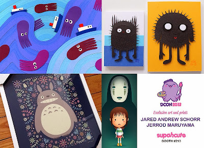 Supahcute Designer Con 2013 Exclusive Prints by Jared Andrew Schorr & Jerrod Maruyama
