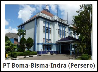 Lowongan Kerja PT Boma-Bisma-Indra (Persero)