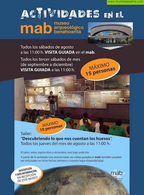 El Cabildo pone en marcha visitas guiadas y talleres en el Museo Arqueológico Benahoarita