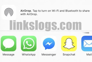 airdrop wiFi and Bluetooth